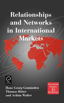 Jacket image for Relationships and Networks in International Markets