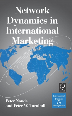 Jacket image for Network Dynamics in International Marketing