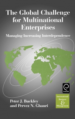 Jacket image for The Global Challenge for Multinational Enterprises