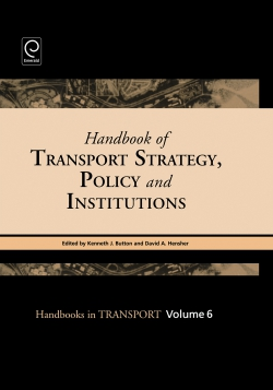 Jacket image for Handbook of Transport Strategy, Policy and Institutions