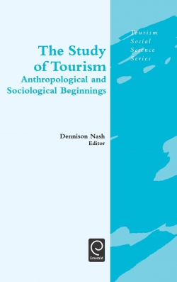 Jacket image for The Study of Tourism