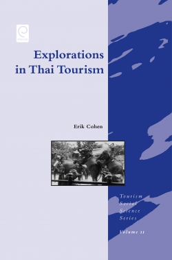 Jacket image for Explorations in Thai Tourism