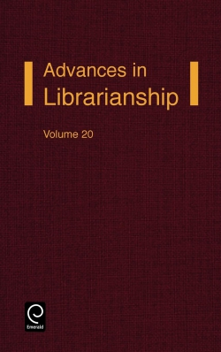 Jacket image for Advances in Librarianship