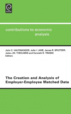 Jacket image for The Creation and Analysis of Employer-employee Matched Data