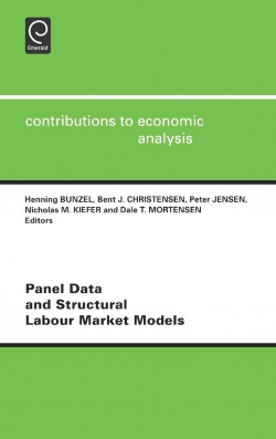 Jacket image for Panel Data and Structural Labour Market Models