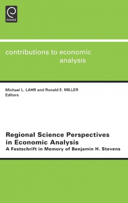 Jacket image for Regional Science Perspectives in Economic Analysis