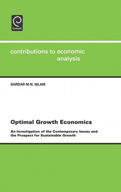 Jacket image for Optimal Growth Economics