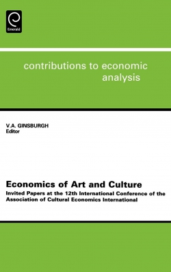 Jacket image for Economics of Art and Culture