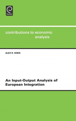 Jacket image for An Input-output Analysis of European Integration