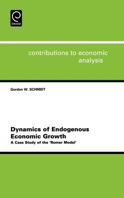 Jacket image for Dynamics of Endogenous Economic Growth
