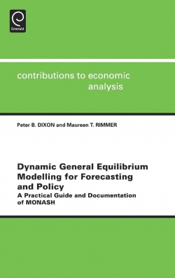 Jacket image for Dynamic General Equilibrium Modelling for Forecasting and Policy