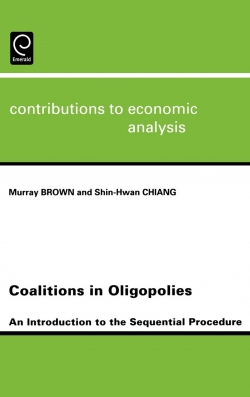 Jacket image for Coalitions in Oligopolies