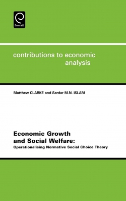 Jacket image for Economic Growth and Social Welfare