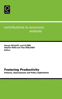 Jacket image for Fostering Productivity