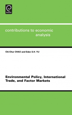Jacket image for Environmental Policy, International Trade and Factor Markets