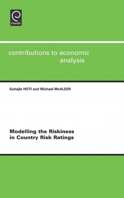 Jacket image for Modelling the Riskiness in Country Risk Ratings