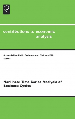 Jacket image for Nonlinear Time Series Analysis of Business Cycles