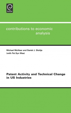 Jacket image for Patent Activity and Technical Change in US Industries