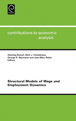Jacket image for Structural Models of Wage and Employment Dynamics