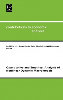 Jacket image for Quantitative and Empirical Analysis of Nonlinear Dynamic Macromodels