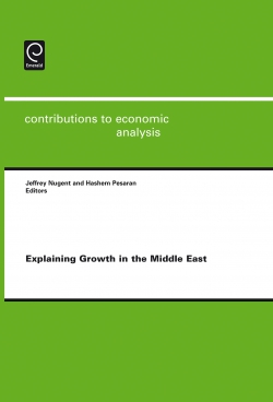 Jacket image for Explaining Growth in the Middle East