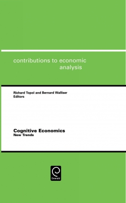 Jacket image for Cognitive Economics