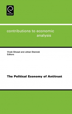 Jacket image for The Political Economy of Antitrust