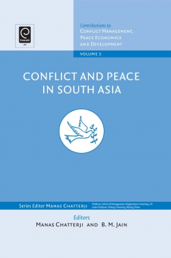 Jacket image for Conflict and Peace in South Asia