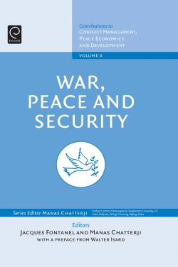 Jacket image for War, Peace, and Security