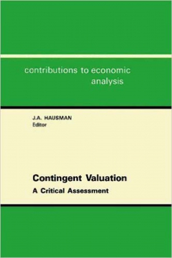 Jacket image for Contingent Valuation