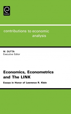 Jacket image for Economics, Econometrics and the LINK