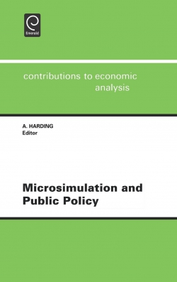 Jacket image for Microsimulation and Public Policy