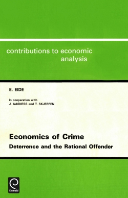 Jacket image for Economics of Crime