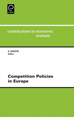 Jacket image for Competition Policies in Europe