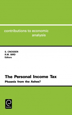 Jacket image for The Personal Income Tax