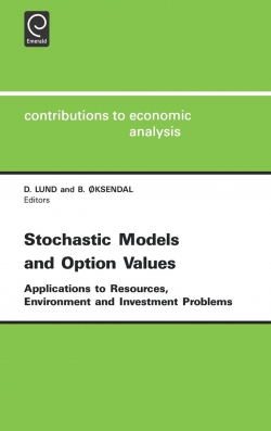 Jacket image for Stochastic Models and Option Values