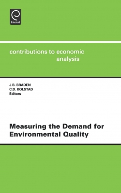 Jacket image for Measuring the Demand for Environmental Quality