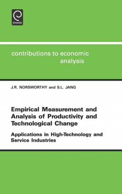 Jacket image for Empirical Measurement and Analysis of Productivity and Technological Change