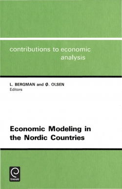 Jacket image for Economic Modeling in the Nordic Countries