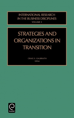 Jacket image for Strategies and Organizations in Transition