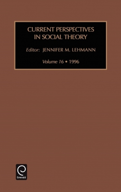 Jacket image for Current Perspectives in Social Theory
