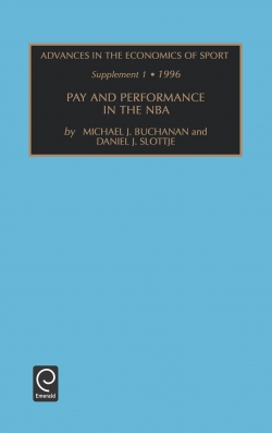 Jacket image for Pay and Performance in the NBA