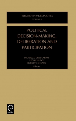 Jacket image for Political Decision-Making, Deliberation and Participation