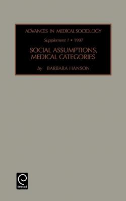 Jacket image for Social Assumptions, Medical Categories