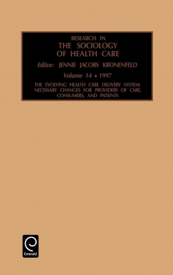 Jacket image for Research in the Sociology of Health Care