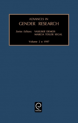 Jacket image for Advances in Gender Research