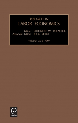 Jacket image for Research in Labor Economics