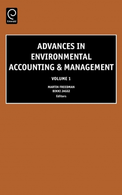Jacket image for Advances in Environmental Accounting and Management