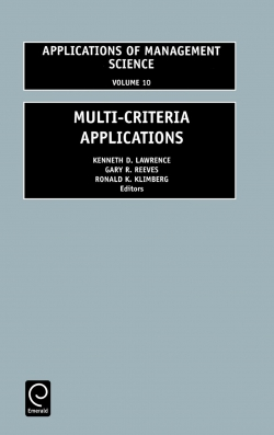 Jacket image for Multi-Criteria Applications