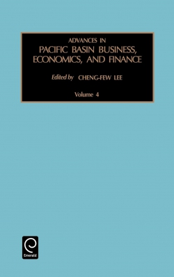 Jacket image for Advances in Pacific Basin Business, Economics, and Finance